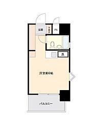 プラス・ワン横浜[0403号室]の間取り