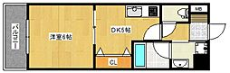 ルネッサンス21[9階]の間取り