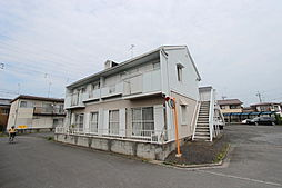 埼玉県熊谷市中央5丁目の賃貸アパートの外観