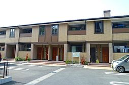 静岡県磐田市川袋の賃貸アパートの外観