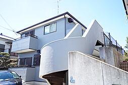 兵庫県宝塚市平井二丁目の賃貸アパートの外観