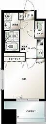 エンクレスト博多駅前III[12階]の間取り