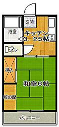 第2ことぶきコーポ[2階]の間取り