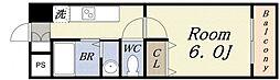 ユートピア[3階]の間取り