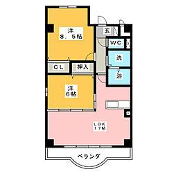 LUNAMARE[1階]の間取り