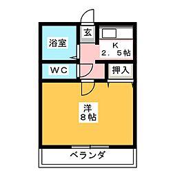 J・シェスタ[1階]の間取り