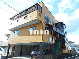 ワタトモアパート[2階]の外観