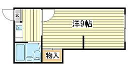 電交社ビル[4-6号室]の間取り