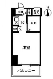 エトワール明神町[5階]の間取り