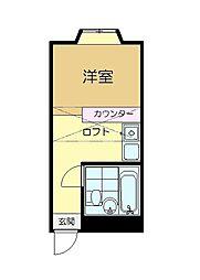 ベルピア京成佐倉第一[2階]の間取り