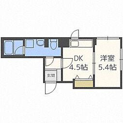 プライムア−バン大通公園II[5階]の間取り