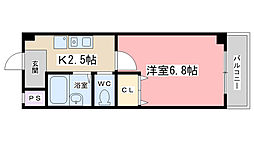 J・Tトキジン[203号室]の間取り