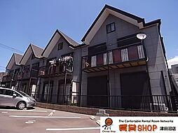 千葉県習志野市谷津1丁目の賃貸アパートの外観