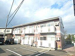 宮城県仙台市若林区遠見塚3の賃貸アパートの外観