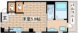 兵庫県神戸市中央区南本町通5丁目の賃貸アパートの間取り