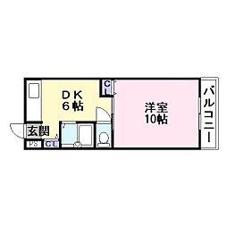 諸福マンション[3階]の間取り