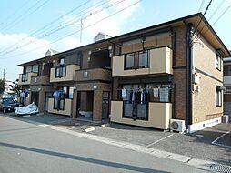 大阪府松原市天美我堂2丁目の賃貸アパートの外観