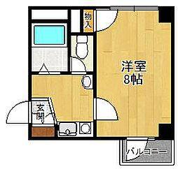 ハピネス武庫之荘西[4階]の間取り