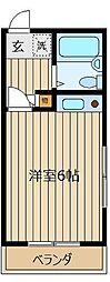 シティ志木本町[301号室]の間取り