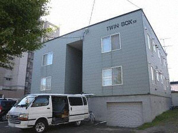ツインボックスXII 2階の賃貸【北海道 / 札幌市豊平区】