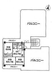 セントラルハイツ本山パート5[501号室号室]の間取り