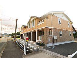 福岡県遠賀郡岡垣町吉木東2丁目の賃貸アパートの外観