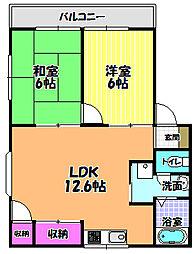 フロンティアフィールド3[1階]の間取り