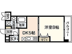 COCO学南町[2階]の間取り