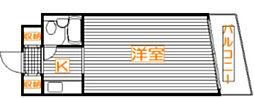 メゾンドマキ舟渡[2階]の間取り