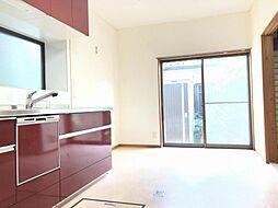 LDKと和室併せて約15.5帖の広々空間