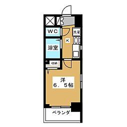 エステムプラザ京都烏丸五条[3階]の間取り