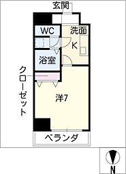 willDo 千代田[10階]の間取り