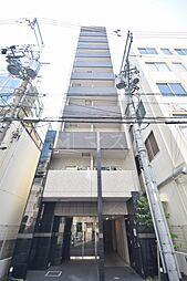 大阪府大阪市中央区南新町2の賃貸マンションの外観