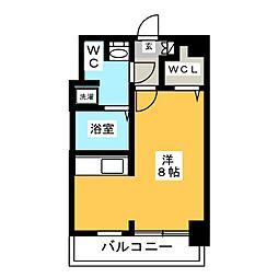 ラファセ箱崎[3階]の間取り