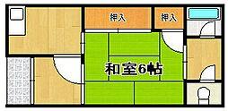 宮川文化[1階]の間取り