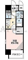 エスプレイス大阪城サウスコンフォート 10階1Kの間取り