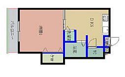プリオール21[407号室]の間取り