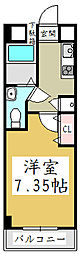 アルファコート西川口6[8階]の間取り