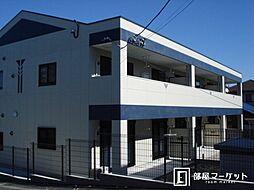 愛知県みよし市三好町天王の賃貸アパートの外観