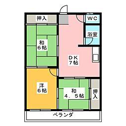 第3菊屋ビル[8階]の間取り