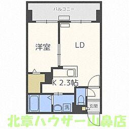 サンコート円山ガーデンヒルズ[10階]の間取り