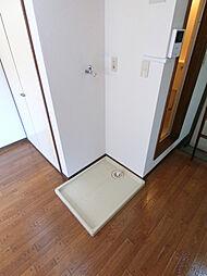 シエナの室内洗濯機置き場です。