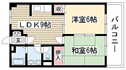 中町田ビル[202号室]の間取り