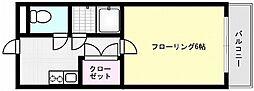 メゾン青木[107号室]の間取り