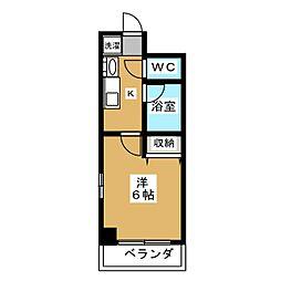 バインオーク イレブン[2階]の間取り
