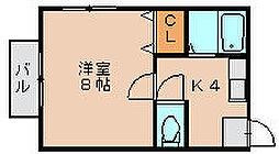 千代ビル[2階]の間取り