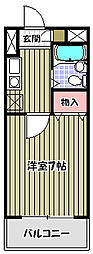ARKII[7階]の間取り