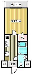 FDS KOHAMA WEST[604号室]の間取り