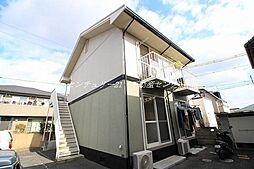 岡山県岡山市中区中井4丁目の賃貸アパートの外観