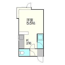 厚別駅 2.2万円